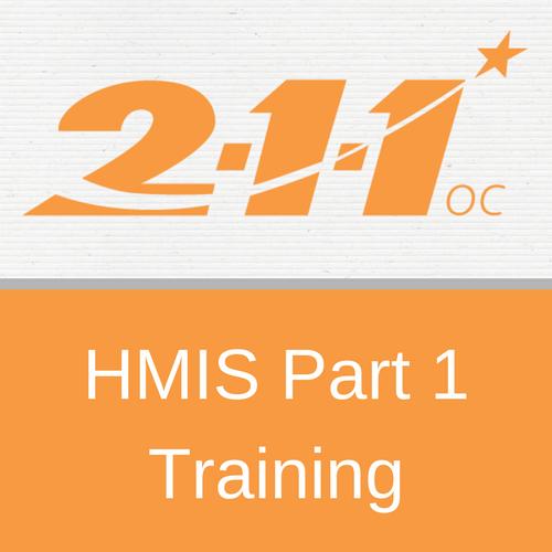 HMIS Part 1 User Training