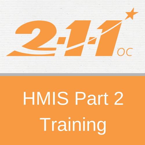 HMIS Part 2 Training (Version 6)
